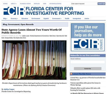 Florida Department Of Corrections Arrest Records Florida Department Of Corrections Destroys Almost 2 Years Worth Of Records