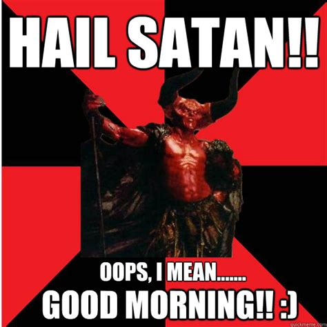Hail Satan Meme - was this choice good or was it evil skyrim forums