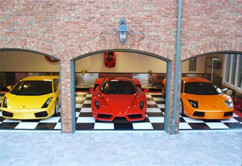 cool car garages cool car garages ideas