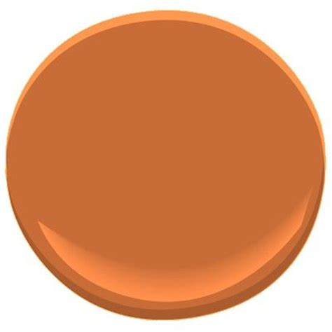 benjamin moore burnt orange pinterest