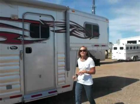 horse trailer awning operating a two step awning on your horse trailer by coolhorse amarillo texas youtube