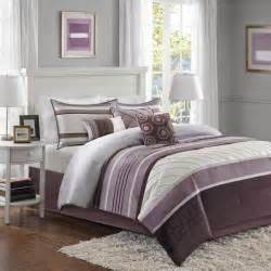 madison park anderson purple 7 piece comforter set free