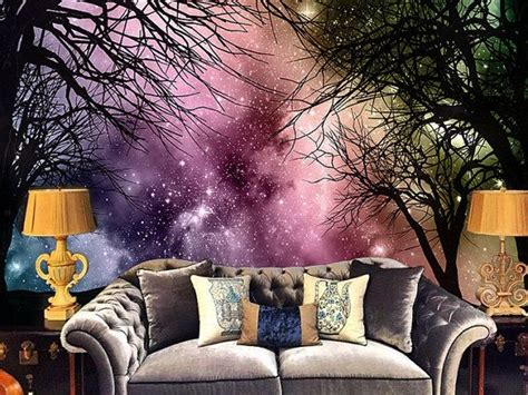 galaxy bedroom wallpaper best 25 forest wallpaper ideas on pinterest