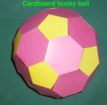 Buckyball Origami - toys from trash