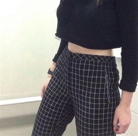 black and white grid pattern pants jeans pants black and white black white grunge
