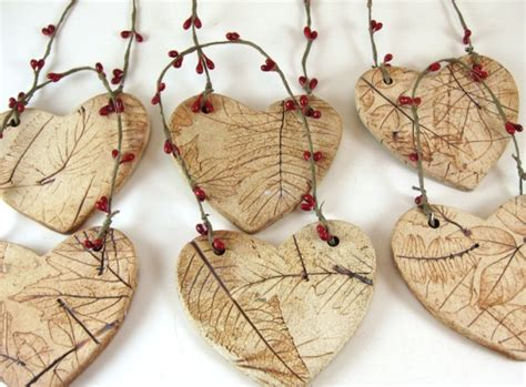 Handmade Clay Ornaments - ceramic ornament handmade pottery ornaments
