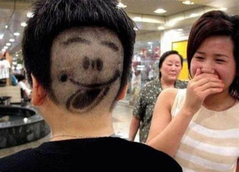husbands cutting their wives hair games funny photos tag funny hair cut