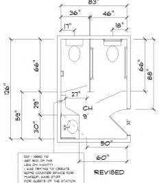 To convert a standard public bathroom into an ada regulation bathroom