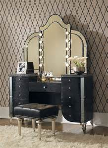 Vanities For Bedrooms With Lights Mirrors Rocker Glam