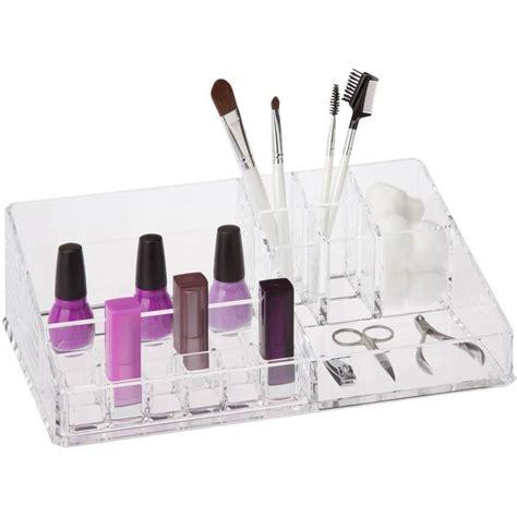 Acrylic Makeup Organizer large acrylic makeup organizer in cosmetic organizers