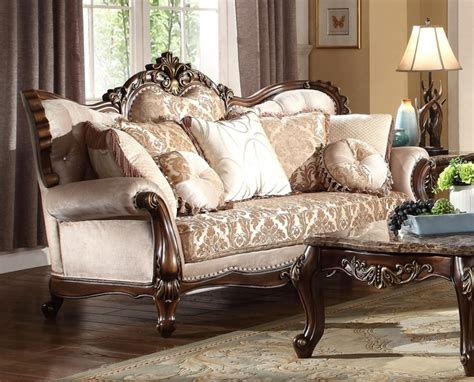 gold chenille sofa kensington victorian beige gold chenille sofa with birch