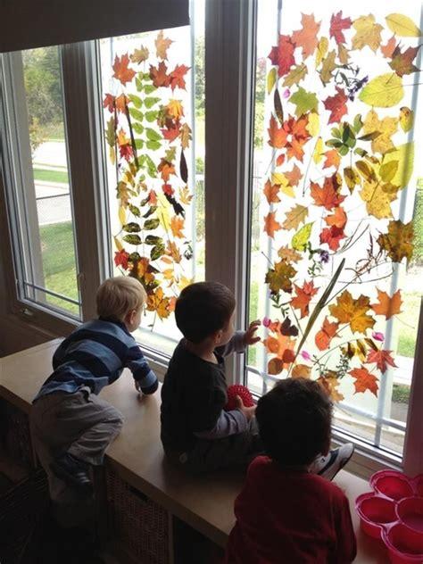 libro autumn is here bing reggio emilia schools love the leaves on the windows http www com search