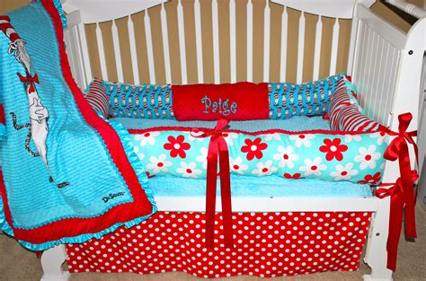 Handmade Baby Bedding Sets - custom baby bedding dr seuss set by babiesnbaubles on etsy