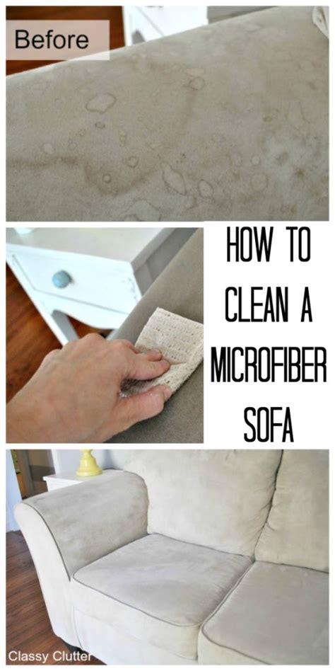 how can i clean microfiber couch how to clean microfiber with professional results classy
