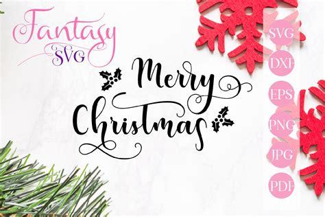 merry christmas svg graphic  fantasy svg creative fabrica