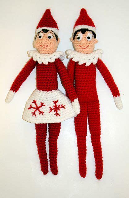 printable elf on the shelf doll ravelry holiday shelf elf crochet doll free pattern by