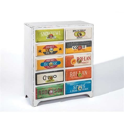 Commode 10 Tiroirs by Commode 10 Tiroirs Quot Cubano Quot Multicolore