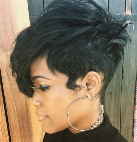 add side bang to tapered hair 60 great short hairstyles for black women