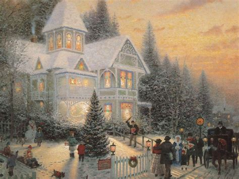 images of christmas scenery vintage christmas wallpaper wallpapers9