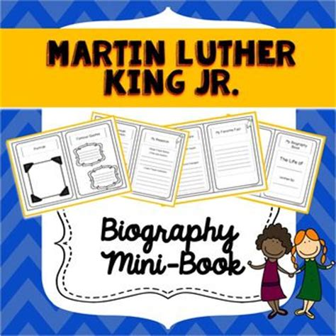 martin luther king biography for students 758 best images about books student made templates