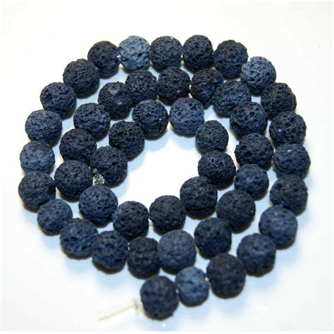 best quality lava l navy blue lava beads natural stone volcanic rock top