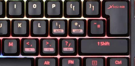 Keyboard Xtrfy xtrfy k2 mechanical gaming keyboard with rgb led xg k2 r rgb uk novatech