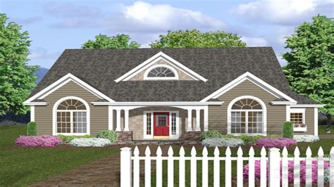 single story farmhouse plans one story house plans with front porches one story house