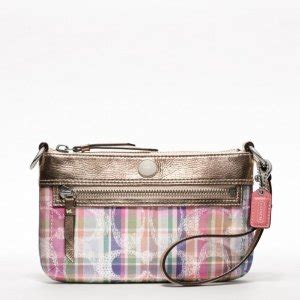 Tas Coach Flap Anyaman Signature 991 product ready stock sweet pea collection