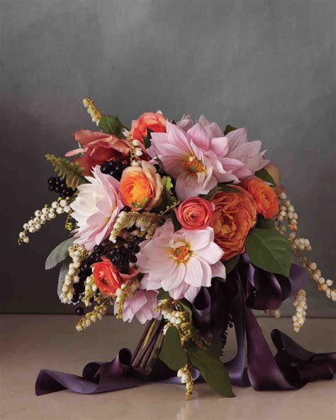 Free Wedding Flower Ideas by Pretty In Pink Wedding Bouquet Ideas Martha Stewart Weddings