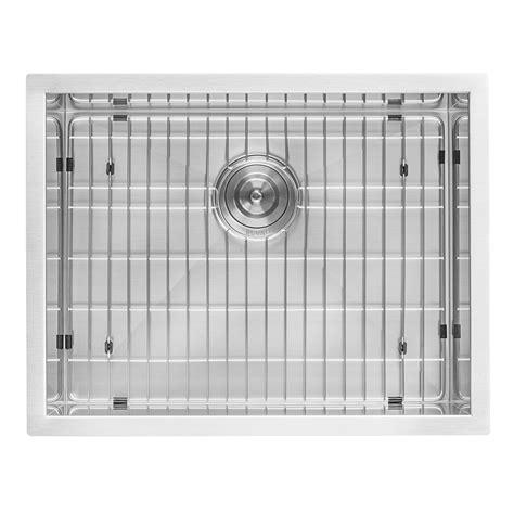 stainless steel undermount utility sink ruvati rvu6100 undermount laundry utility sink 23 quot x 18 quot x