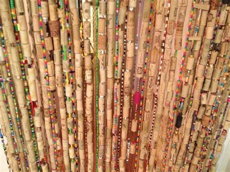 curtains cork wine corks corks and curtains on pinterest