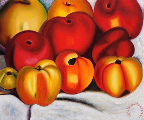 apple family georgia o keeffe apple family ii painting apple family