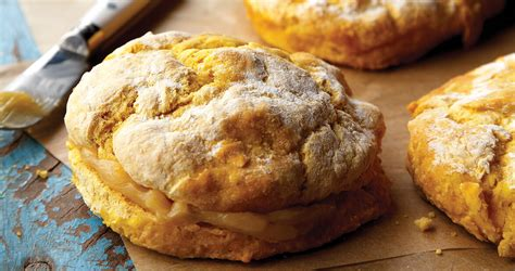 pumpkin biscuits with orange honey butter our state magazine