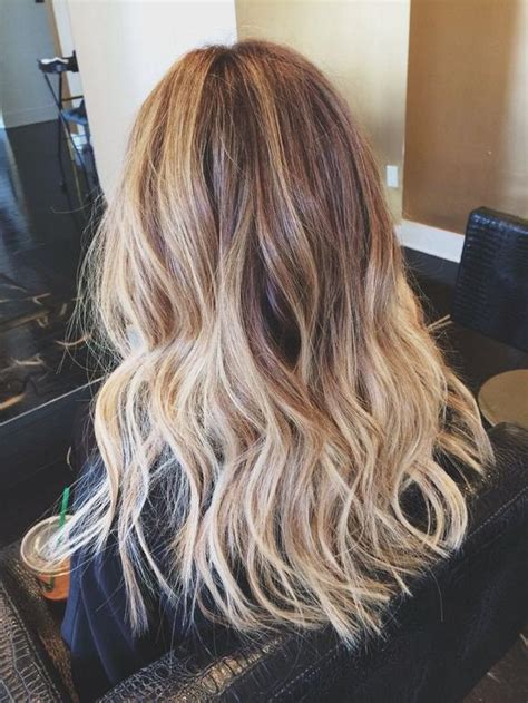 brown and blonde ombre with a line hair cut light brown ombre hairstyles how to