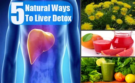 Herbal Ways To Detox Liver by 5 Ways To Liver Detox