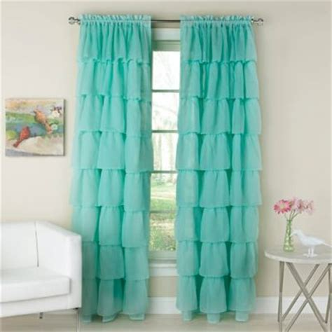 aqua color curtains buy aqua window curtains from bed bath beyond