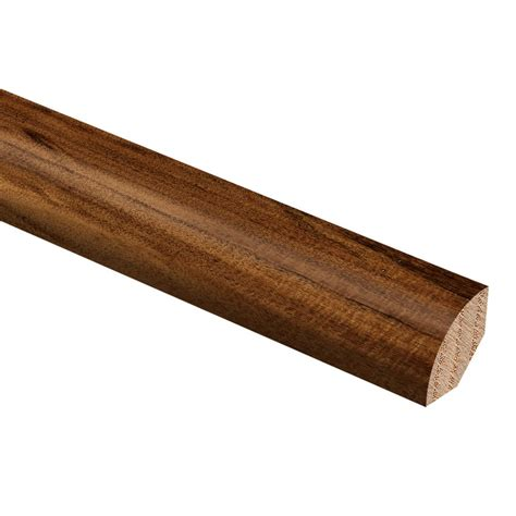 zamma hand scraped natural acacia 3 4 in thick x 3 4 in wide x 94 in length hardwood quarter