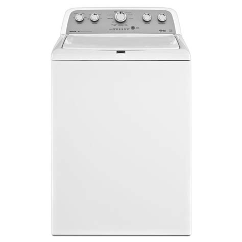 maytag bravos washer shop maytag bravos x 3 8 cu ft high efficiency top load washer white energy at lowes