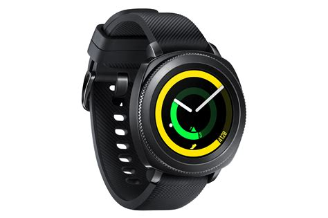 Watches Igear Black samsung gear sport and smart appliances unveiled