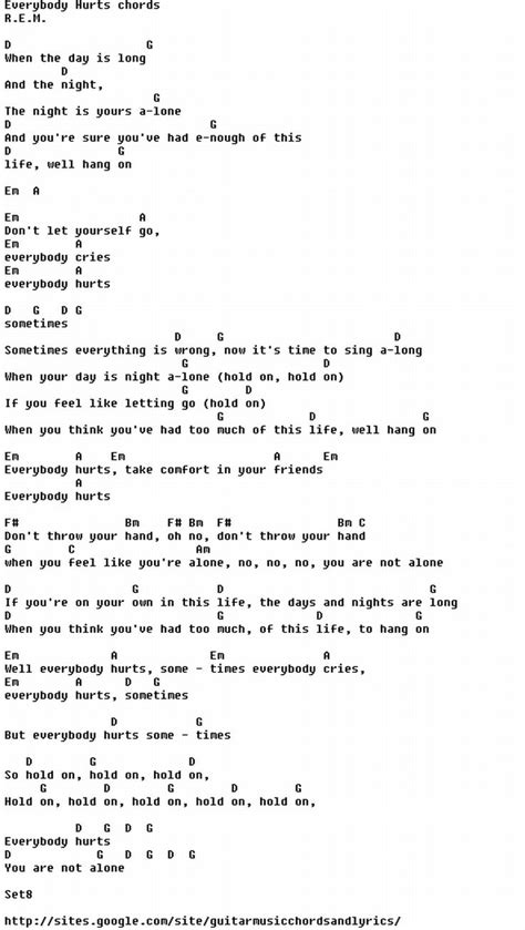 printable lyrics to everybody wants to be a cat 17 best images about chords on pinterest ukulele guitar