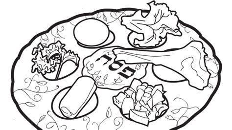 631 52 kb jpeg seder plate coloring page image search