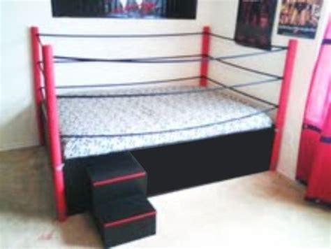wwe couch wrestling ring bed cool rooms pinterest go to sleep