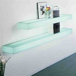 Small Glass Door Bookcase Floating Glass Shelves Wall Mount Decor Ideasdecor Ideas