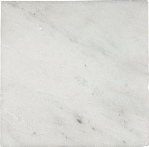 6x6 arabescato white carrara honed marble tile