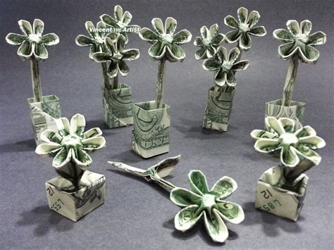 Origami Flowers Made From Money - 17 best images about origami on
