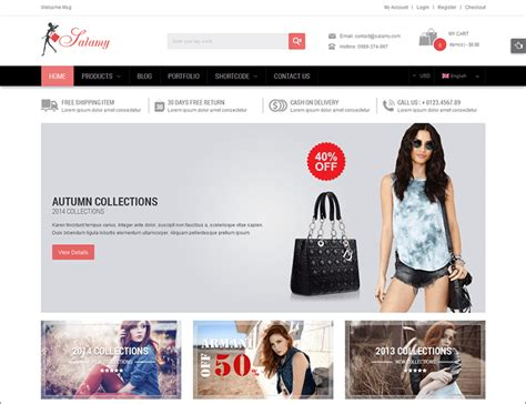 themes online store wordpress woocommerce themes templates free premium