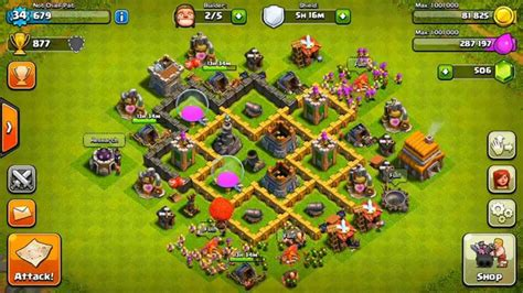 clash of clans town hall 5 defense best coc th5 hybrid base layout clash of clans best town hall 5 defense base design