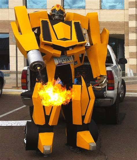 Friday Night Lights Always How About A Transformers Bumblebee Costume For This Halloween