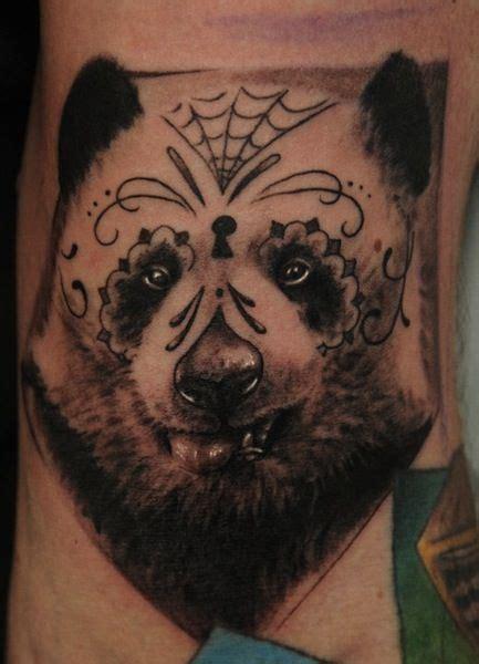 panda face tattoo 31 best panda face tribal tattoo images on pinterest