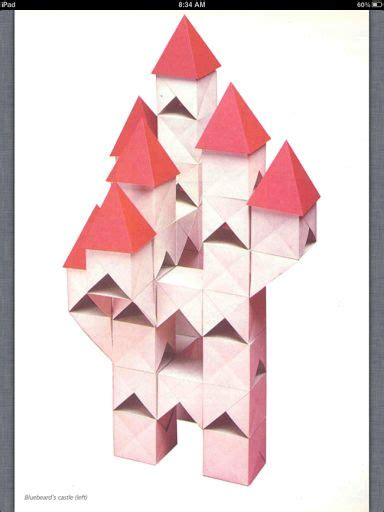 Castle Origami - zen origami and castles on